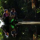 Ambiance magique en Amazonie