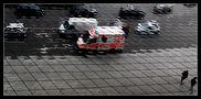 Ambulance vehicle in the mirror von Stefan Crass