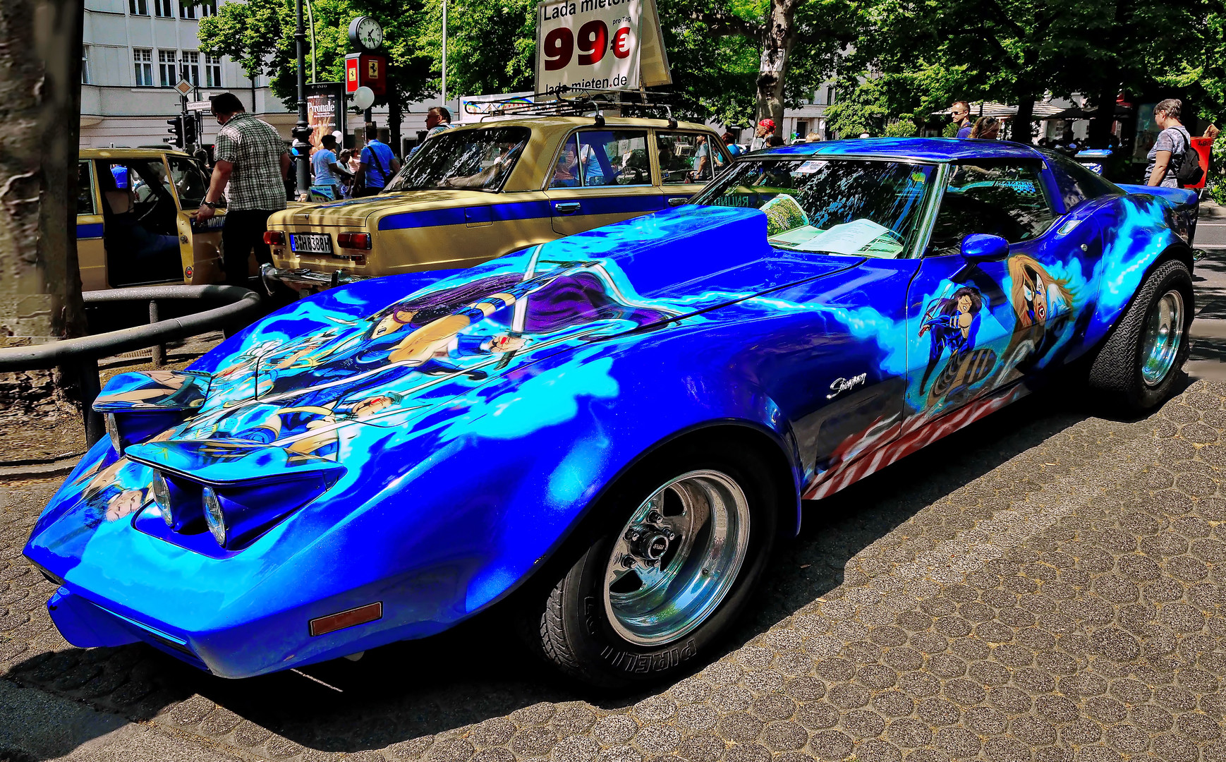 AMERICAN CARS  - Stingray Corvette -