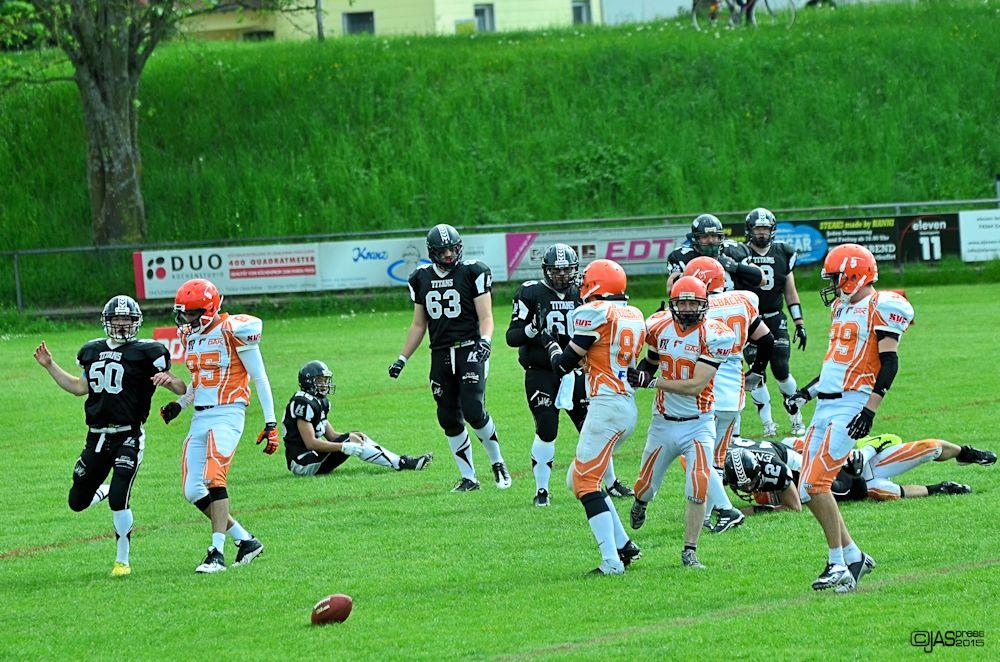 american football - crailsheim titans vs fellbach warriors 02