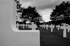 American Military Cemetery in Colleville-sur-Mer