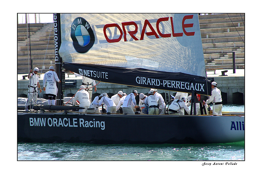America's Cup Teams - BMW Oracle