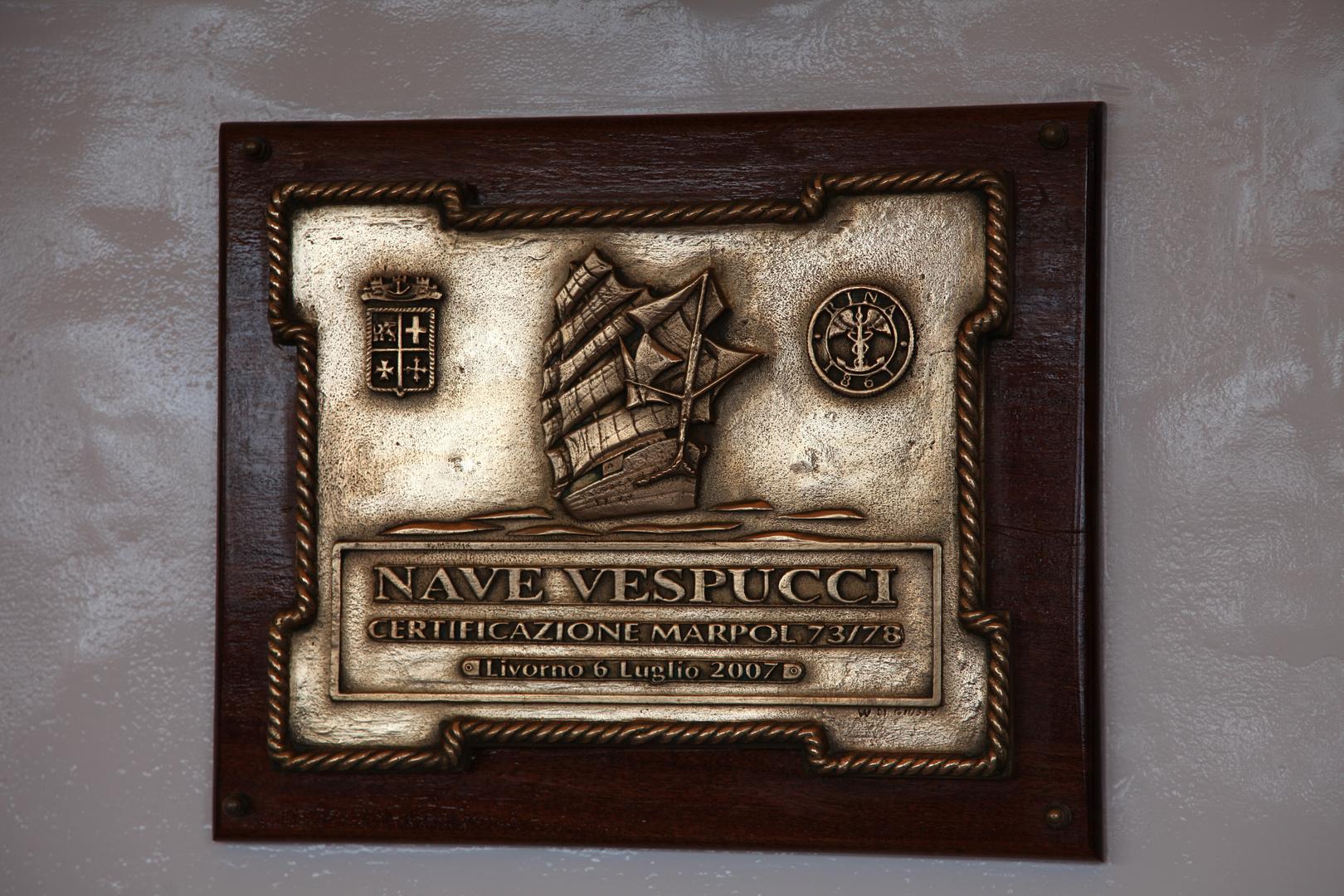 Amerigo Vespucci-Schönste Segelschulschiff der Welt.