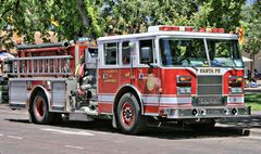Amerikanisches Feuerwehrauto