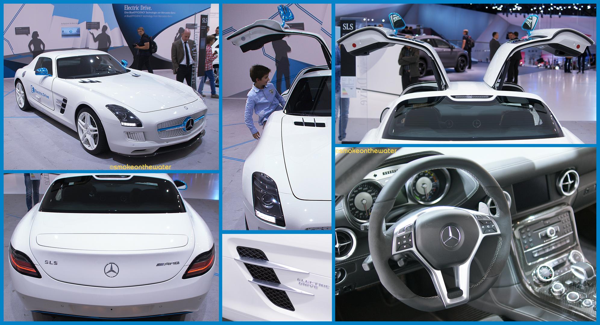 AMG-Mercedes SLS Coupé Electric Drive