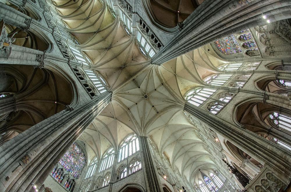 Amiens Gewölbe