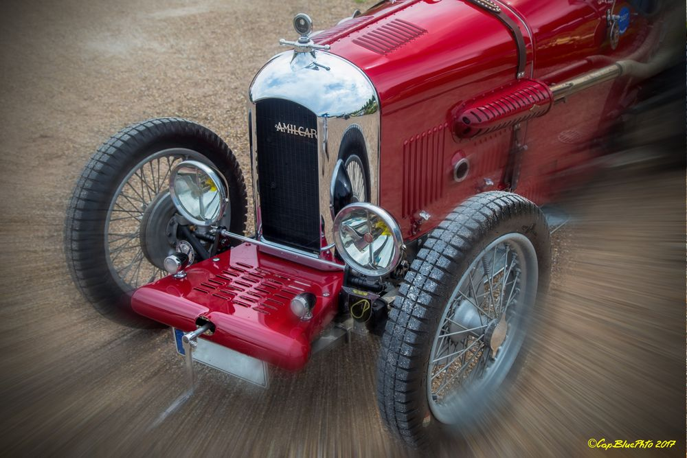 Amilcar CGSS Compresseur F 1927 bei den Classic Cars Schwetzingen
