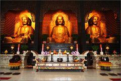 amithaba - shakyamuni - medizinbuddha