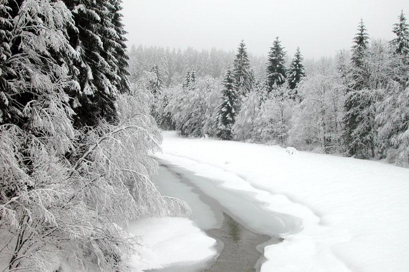 Ammerschlucht in Oberbayern