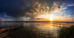 Ammersee am Abend