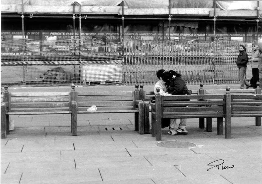 Amore in piazza Castello
