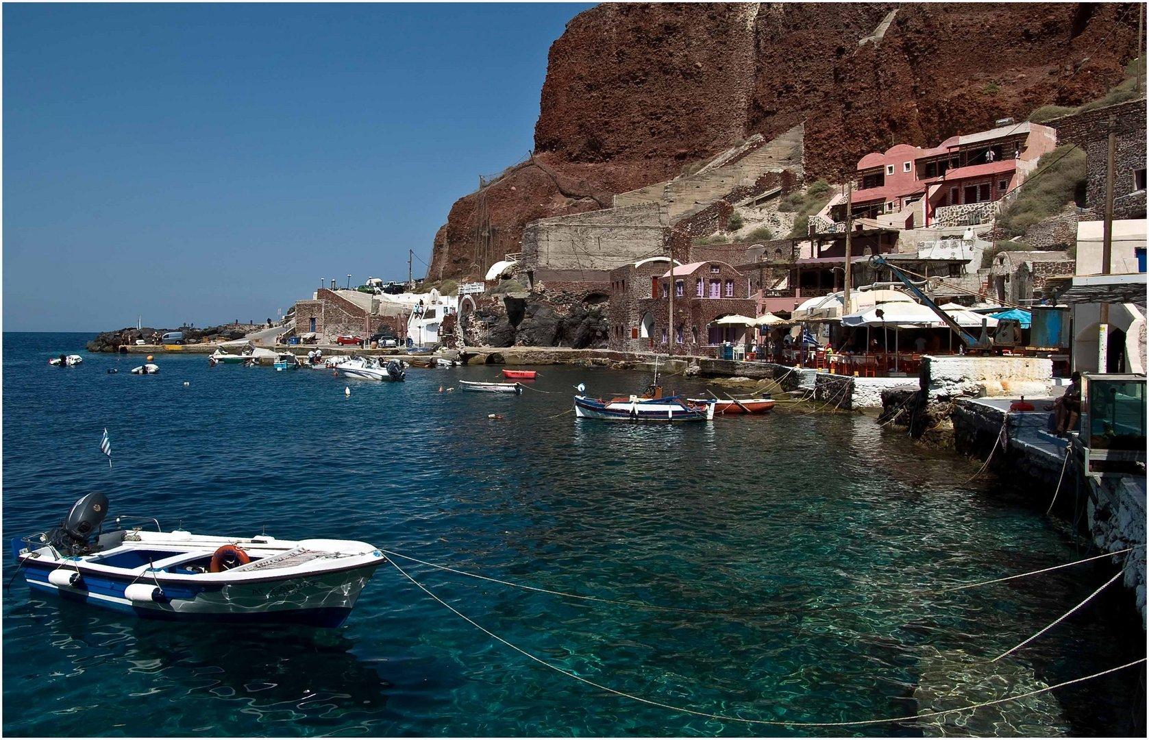 Amoudi Bay, Oia / Santorin