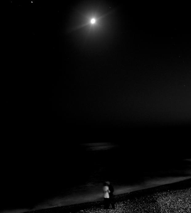 Amoureux au clair de lune