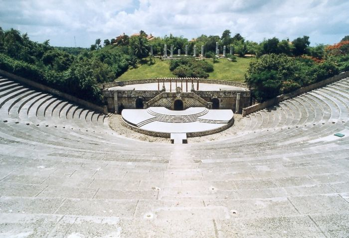 Amphi-Theater in Altos de Chavon