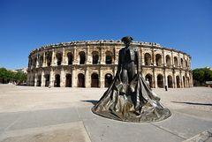 Amphitheater in Nîmes