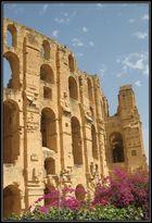 Amphitheater von El Jem in Tunesien