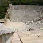Amphitheater von Epidaurus / Peloponnes GR
