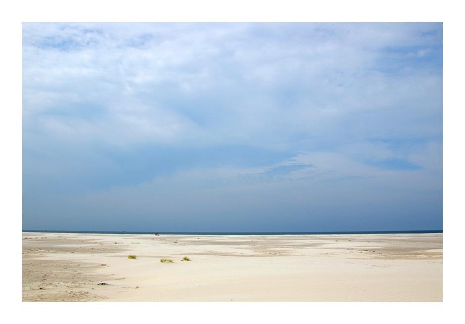 Amrum 2004 - manchmal ist der Strand weiter weg ...