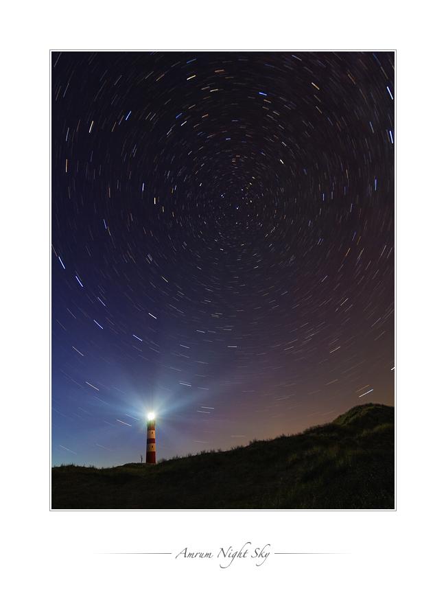 Amrum Night Sky