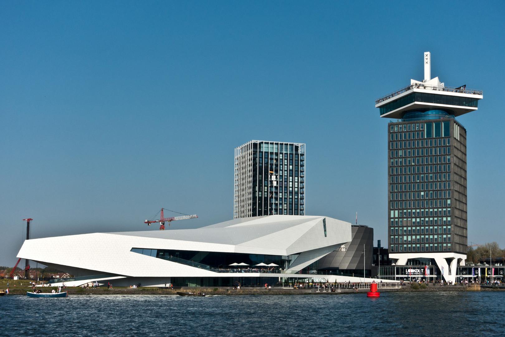 Amsterdam - Adam Lookout und Eye Filmmuseum