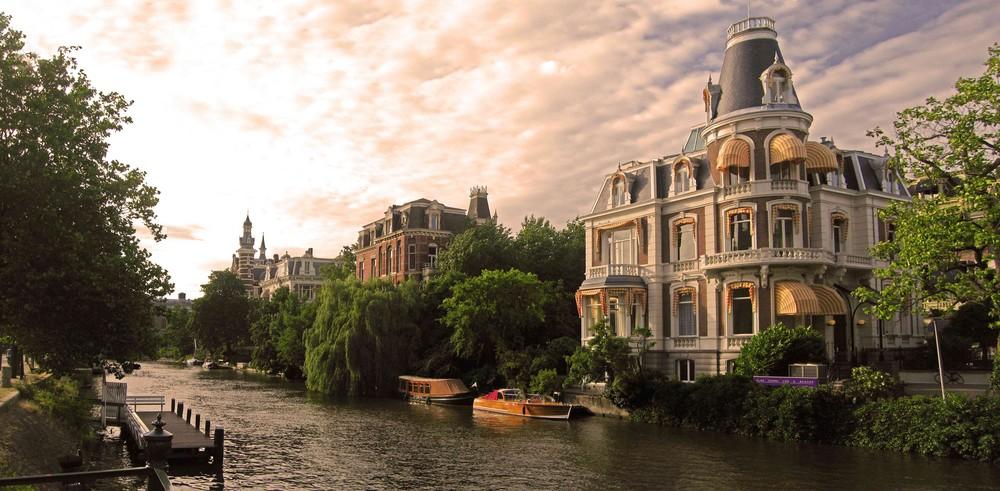 Amsterdam atardecer