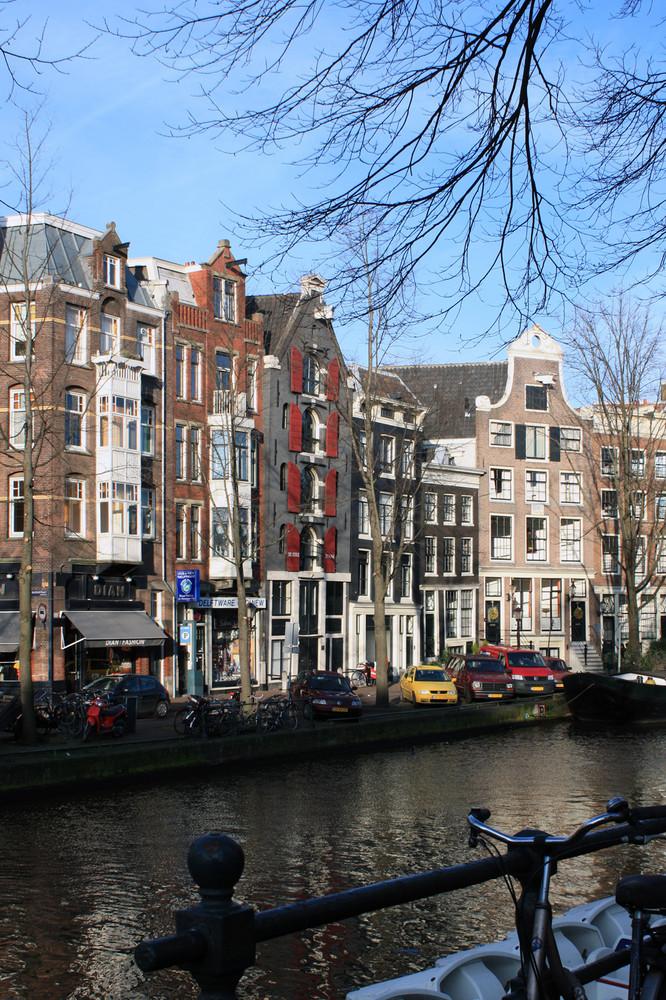 Amsterdam en hiver