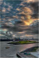 ... Amsterdam Hafen ...