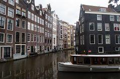 Amsterdam im Regen