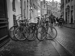 Amsterdam - Parken in Reihe 5