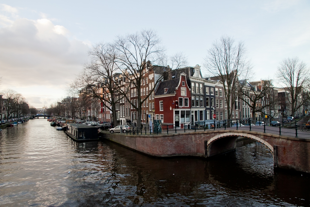 Amsterdam Prinsengracht en Reguliersgracht www.fotovictoir.nl