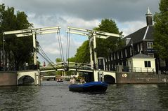 Amsterdam - Zugbrücke
