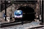 Amtrak ACS-64 Approaching Baltimore Penn Station