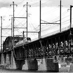 Amtrak HHP-8 with Northeast Regional Train Crossing Susquehanna