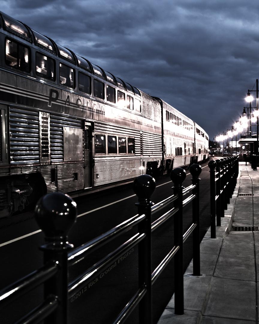 Amtrak Leaving