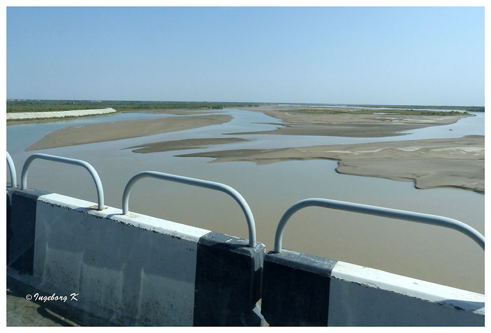 Amudaja - der wichtigste und größte Fluß dieses Gebietes