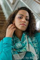 Amy beim Fotoworkshop in Scheveningen