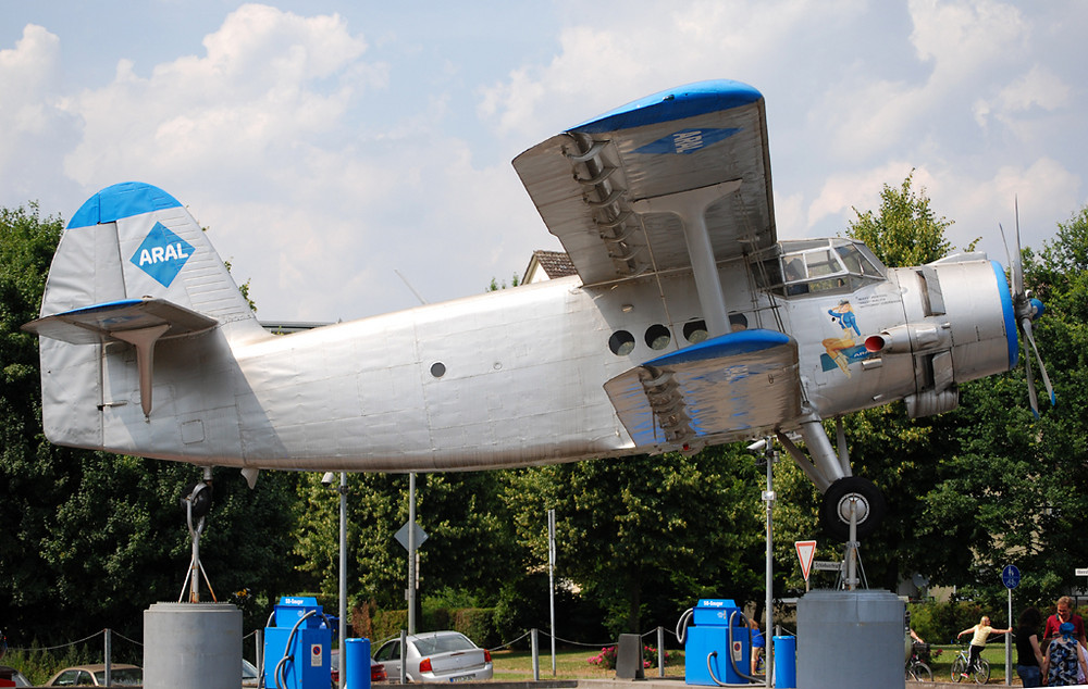 AN-2 in Leverkusen