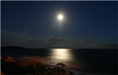 An August night in Porec Croatia