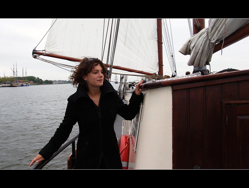 an Bord der *Nil Desperandum*
