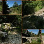 An den alten Steinbogenbrücken im Zagoria- Gebiet