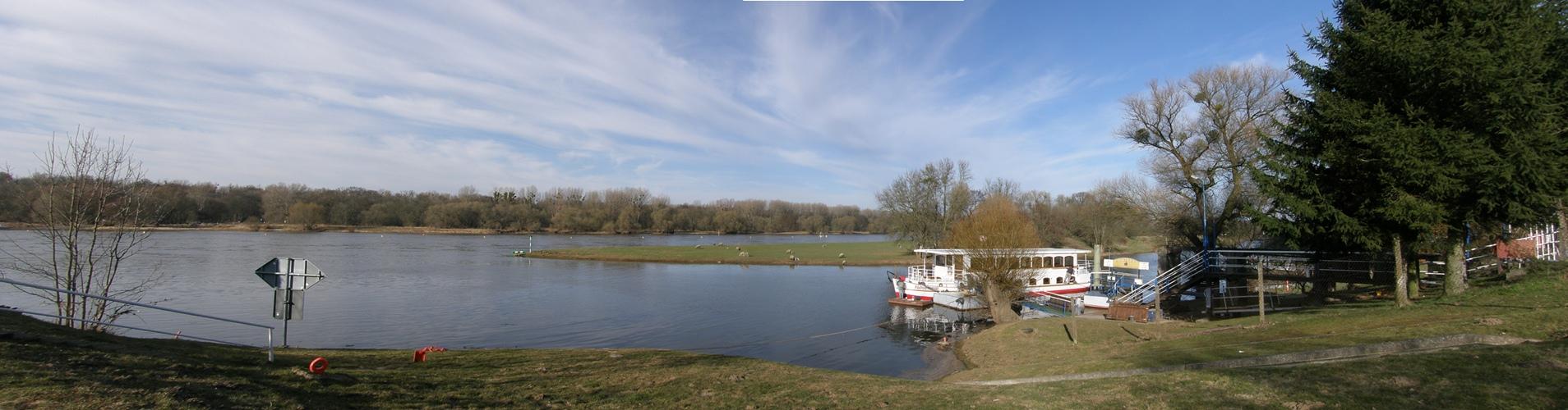 An den Elbwiesen bei Aken/Elbe