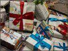 An den Geschenken wird nicht gespart ...