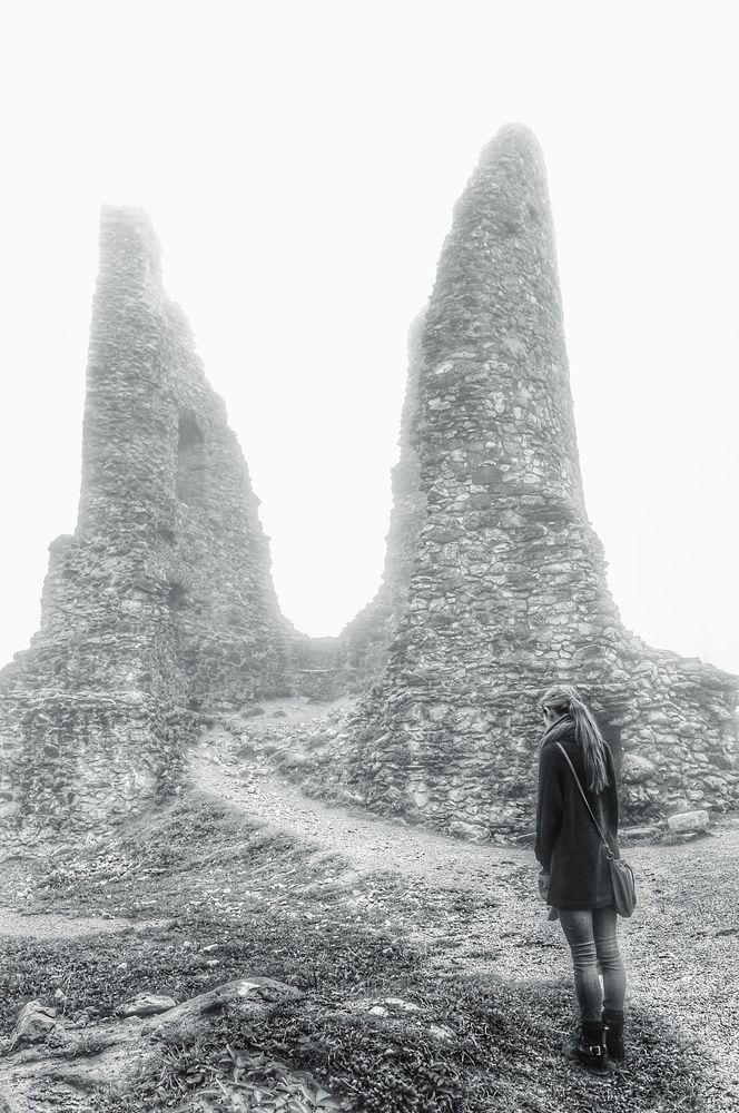 An den zwei Nebelhörnern