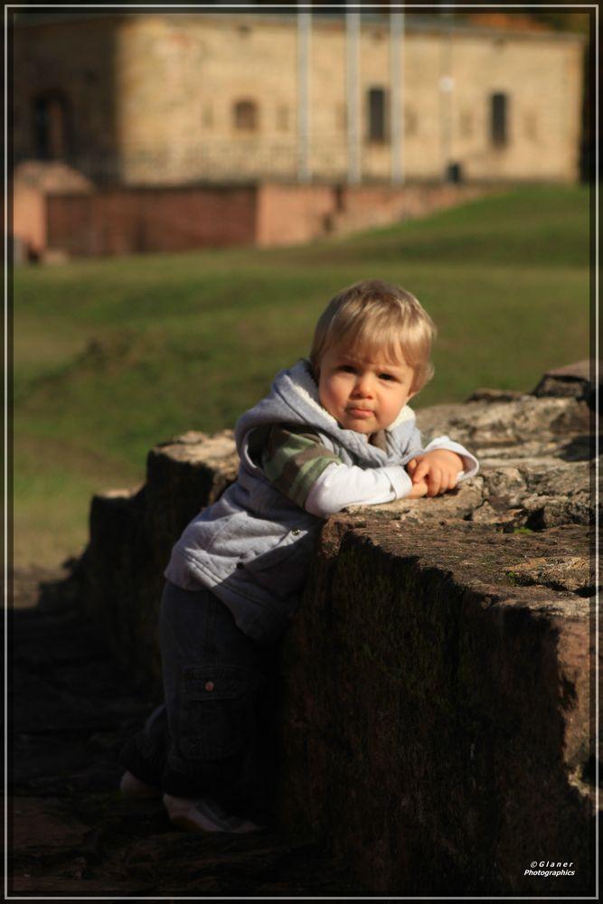 An der alten Festungsmauer