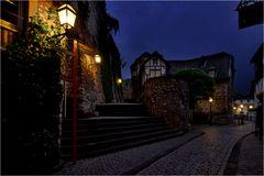 An der Burg in Stolberg / Rheinland