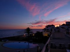 An der Costa del Sol ging die Sonne unter:-)
