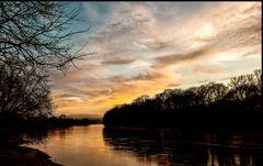 An der Elbe bei Dresden