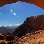 An der False Kiva - Canyonlands NP