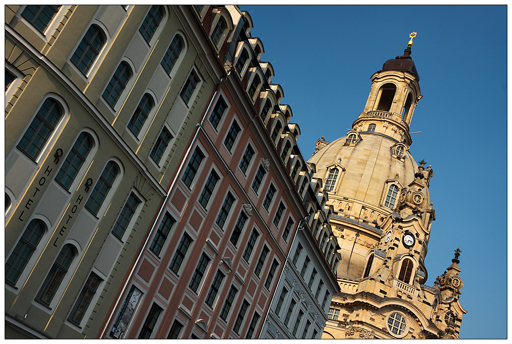 An der Frauenkirche Dresden