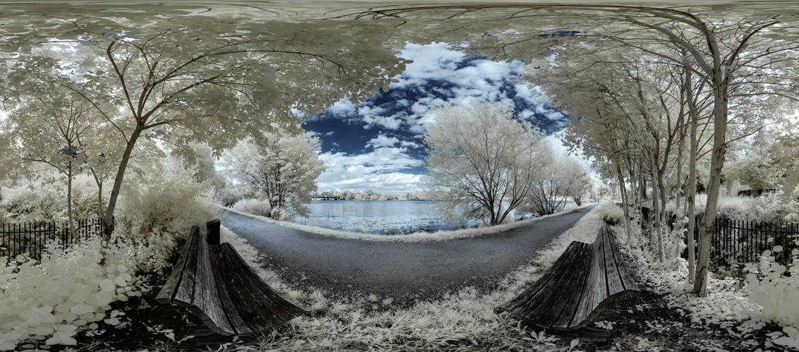 An der Glienicker Lake